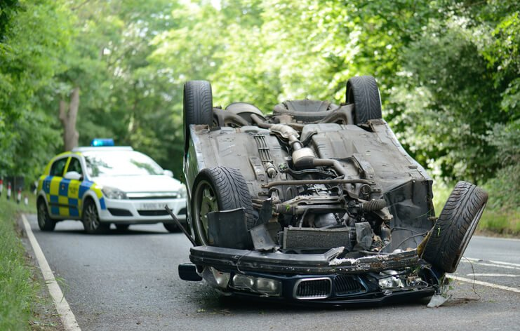 rollover car accident